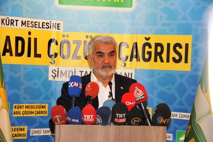 Hüda-Par Genel Başkanı Yapıcıoğlu istifa etti