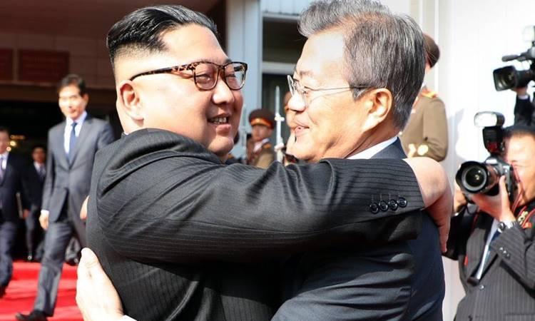 Güney ve Kuzey Kore liderleri yeniden bir arada