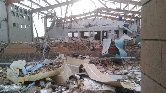 Koalisyon Yemen'de kolera tedavi merkezlerini vurdu