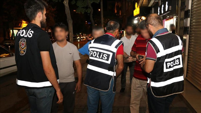 Binlerce polisle 'Türkiye Huzur Arife Uygulaması'
