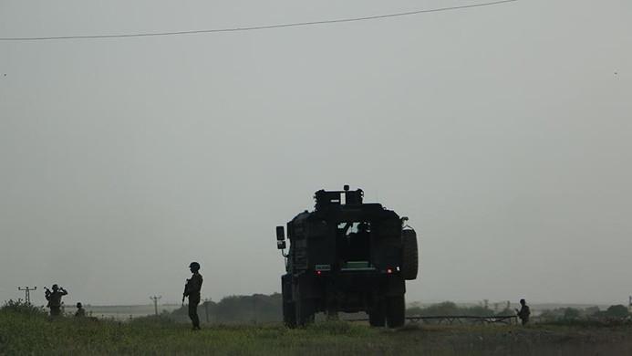 Askeri konvoya roketatarlı saldırı: 6 asker yaralı