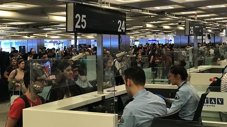 9 günde 5 milyondan fazla yolcu uçtu