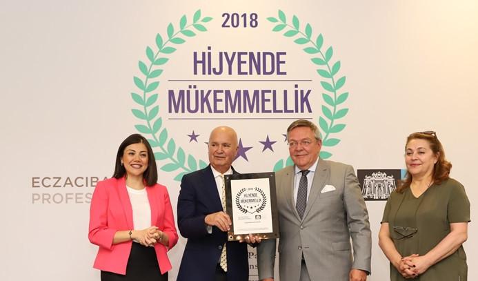 """Çırağan Palace Kempinski, """"Hijyende Mükemmel"""" seçildi"""