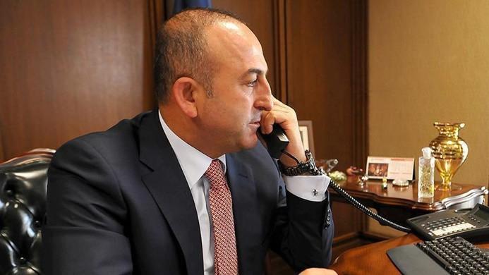 Çavuşoğlu Avusturyalı mevkidaşıyla telefonla görüştü