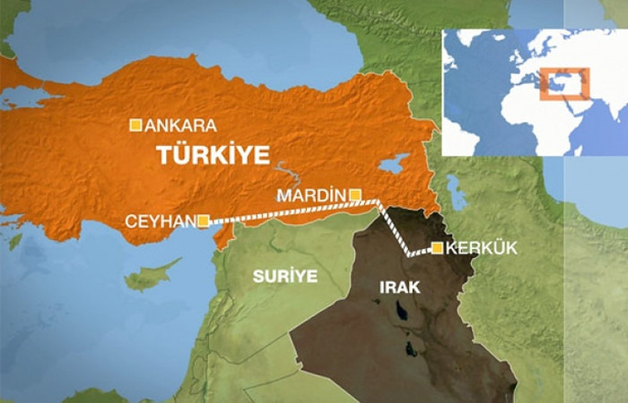 Kerkük petrolü yine Ceyhan'a akacak