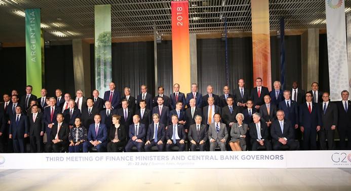 G20'de küresel büyüme vurgusu