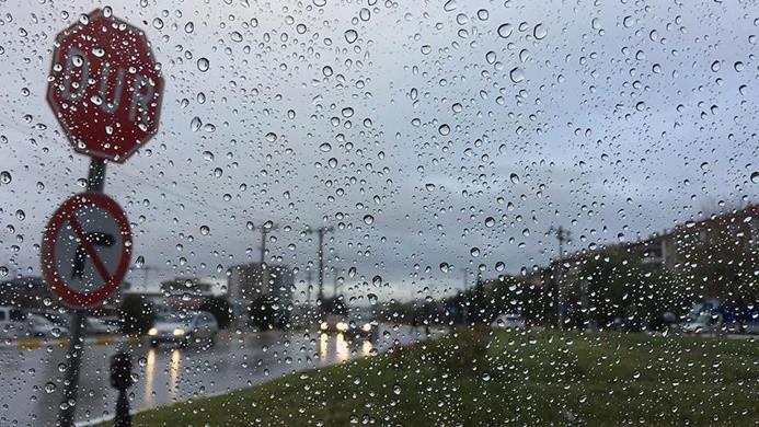 Trakya'da kuvvetli yağış uyarısı
