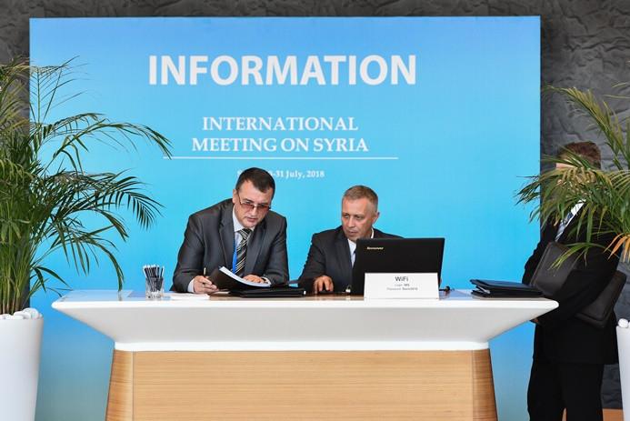 Soçi'deki Suriye zirvesinde 'ortak duruş' vurgulandı
