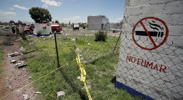 Meksika'da havai fişek faciası: 19 ölü, 30 yaralı