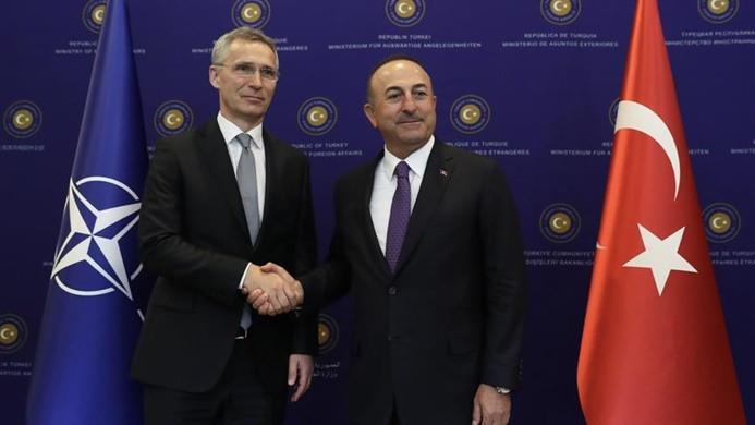 Çavuşoğlu NATO Genel Sekreteri Stoltenberg ile görüştü