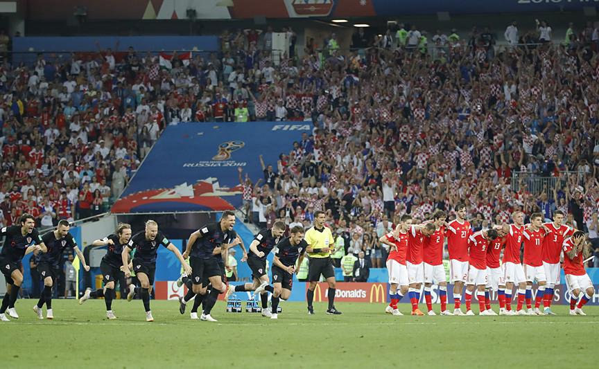 Son yarı final bileti Hırvatistan'ın oldu