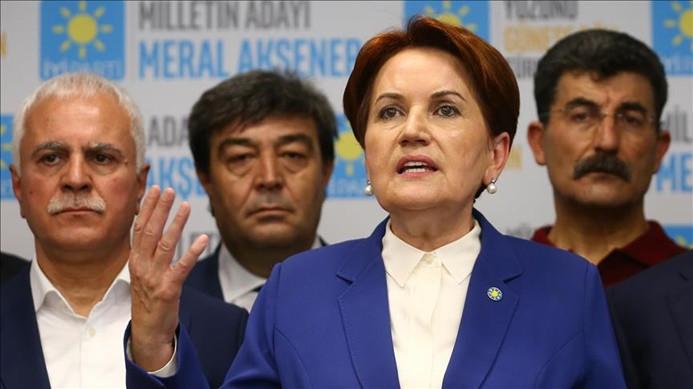Akşener: Türkiye Cumhuriyeti hükümetinin yanındayız