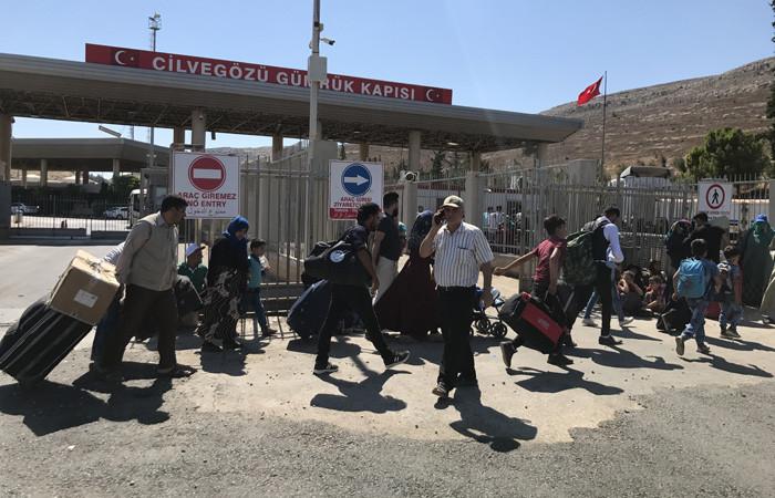 30 bin Suriyeli bayram için ülkesine döndü