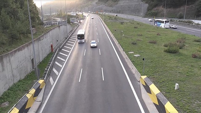Bolu Dağı'nda trafik rahatladı