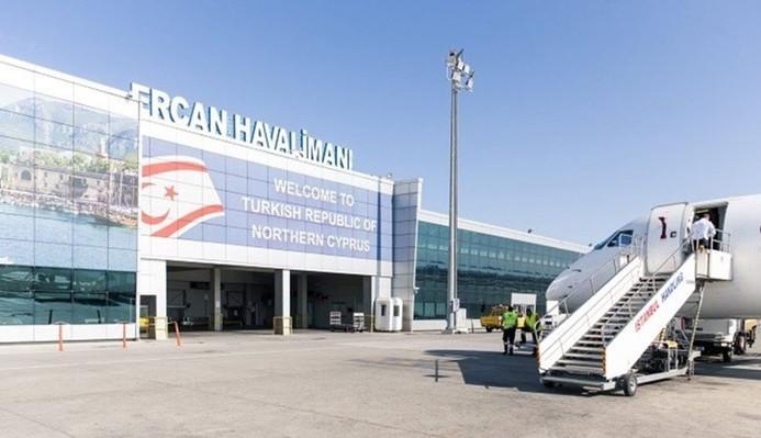 KKTC'de Ercan Havalimanı'nda uçuşlar durduruldu