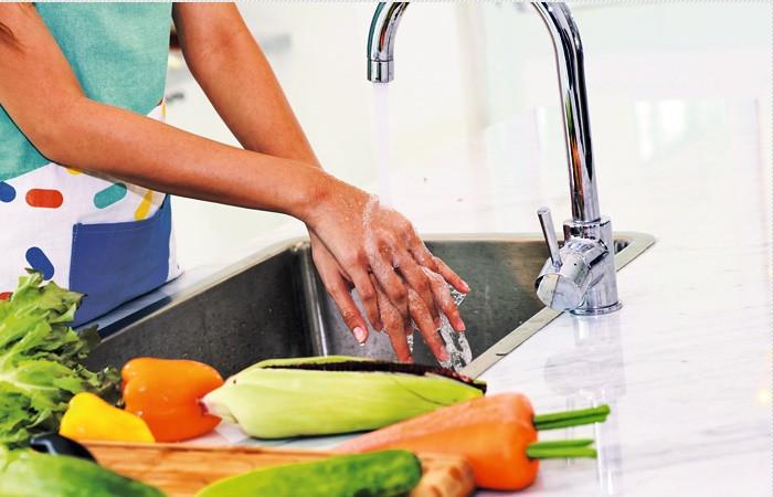 Mutfakta mikroplara geçit vermeyin!