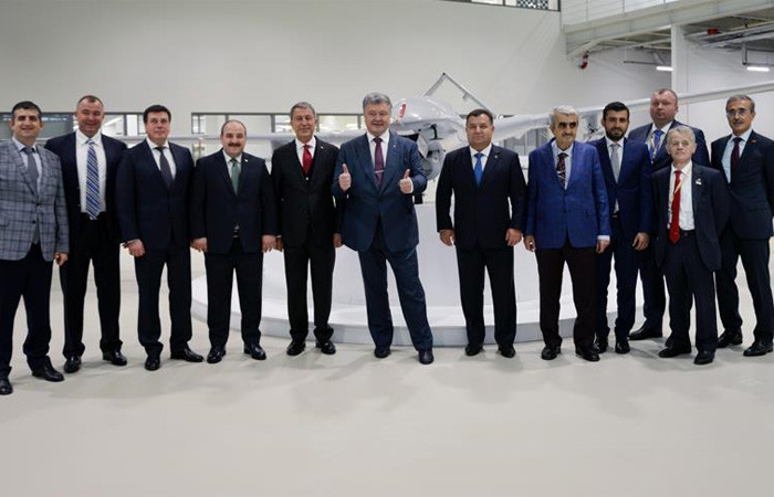 Ukrayna, Türkiye'den İHA alacak