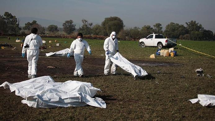 Meksika'da boru hattında patlama: 66 ölü