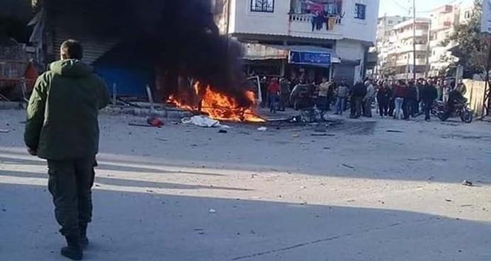 Lazkiye'de patlama: 1 ölü, 4 yaralı