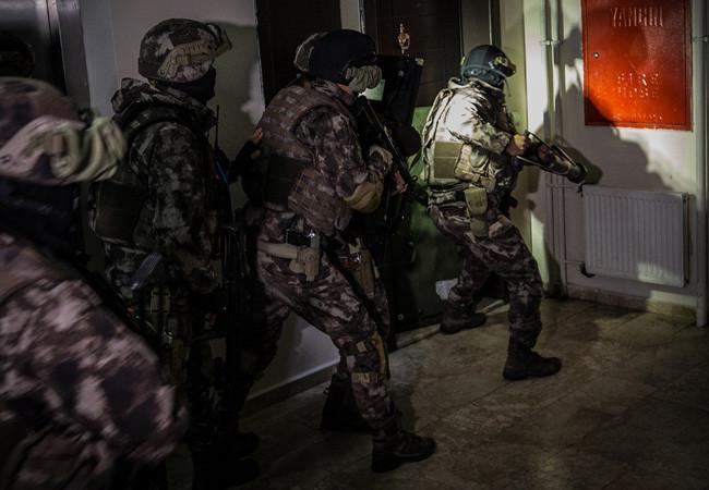 1000 polisle narkotik operasyonu