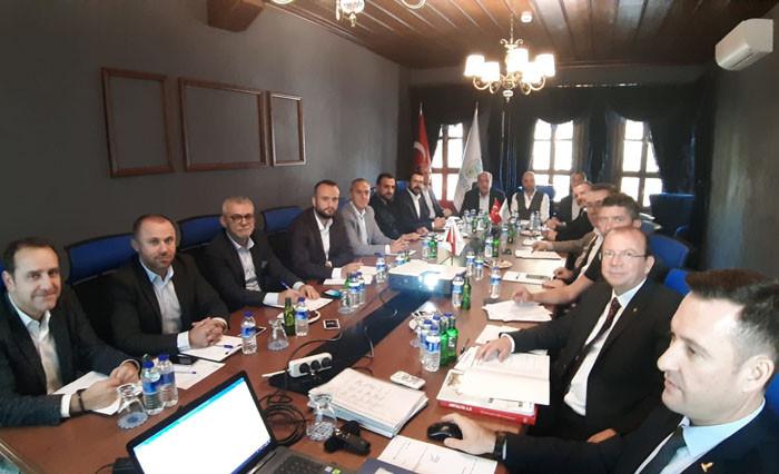 Borsa meclisi tarihi binada toplandı