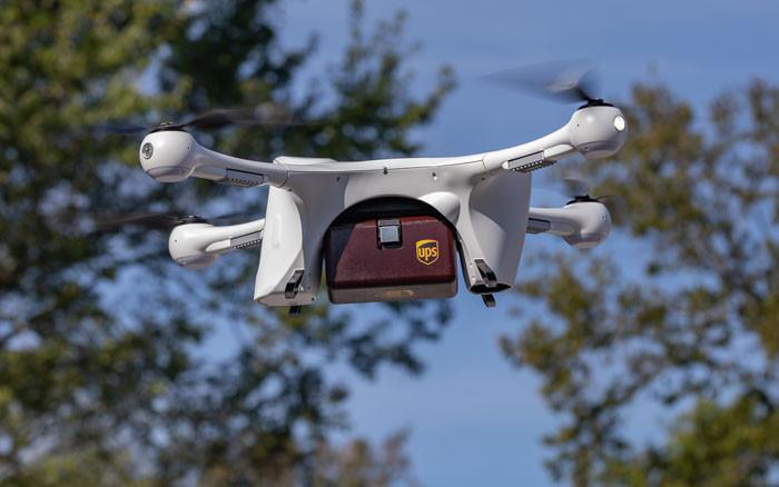 UPS, drone ile görüş çizgisinin ötesinde