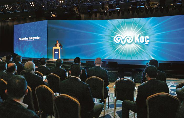 """Koç Holding'den """"yatırımlara devam edeceğiz"""" mesajı"""