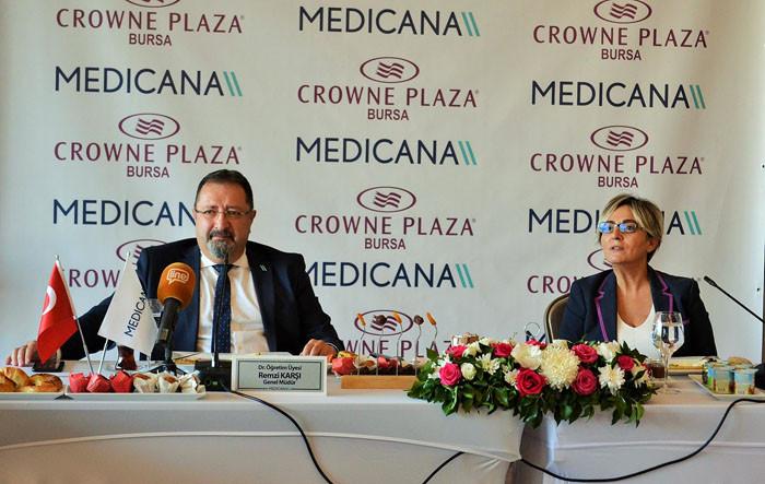 """""""Bursa, sağlık turizminde İstanbul'un alternatifi haline geldi"""""""