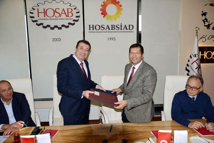 HOSAB ve Kayapa OSB işbirliği için imza attı