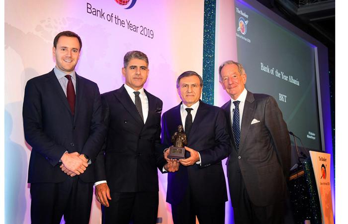 Çalık Grubu'nun Arnavutluk'taki bankası BKT, yılın bankası seçildi