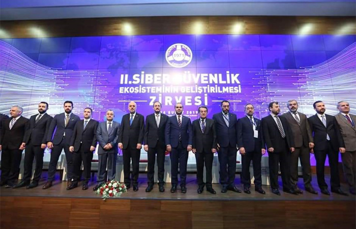 2'nci Siber Güvenlik Zirvesi Ankara'da yapıldı