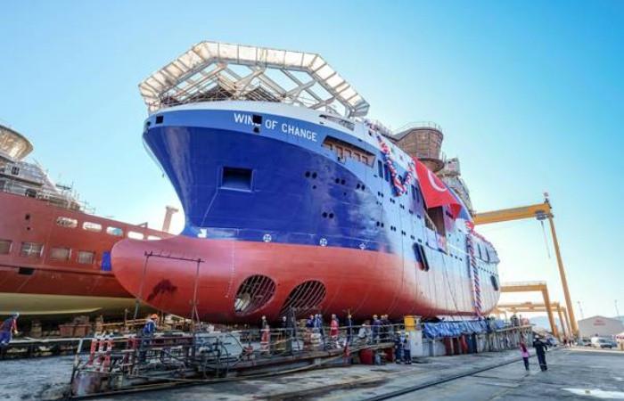 Yılın gemisi Cemre Tersanesi'nden çıktı