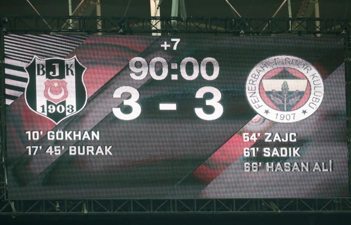 Fenerbahçe'den 3 gollü geri dönüş