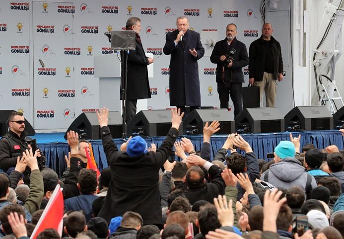 Erdoğan'dan İdris Naim Şahin'e sert tepki