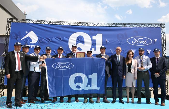 Ford Q1 ödülünü alan Sampa, 2023'te dünya lideri olmayı hedefliyor