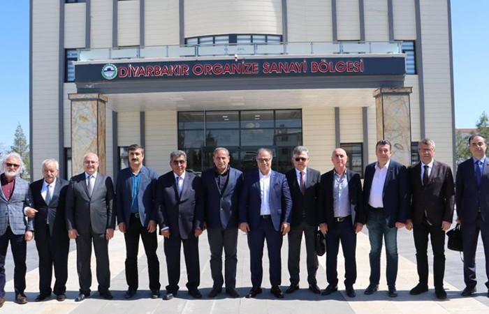 İş insanları Diyarbakır'ın yatırım fırsatlarını yerinde gördü