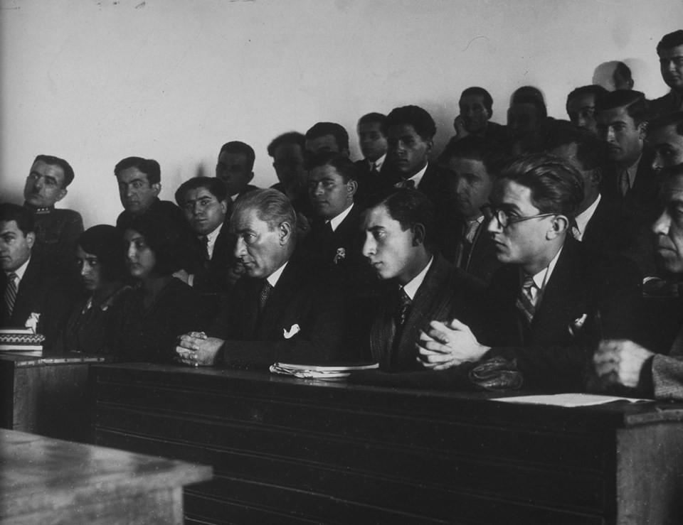 Arşivlerden özel Atatürk kareleri