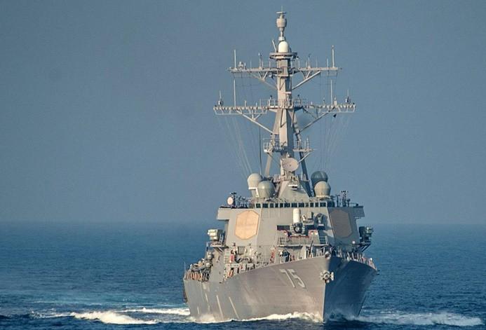 ABD destroyerinden Güney Çin Denizi'nde tartışma yaratacak geçiş