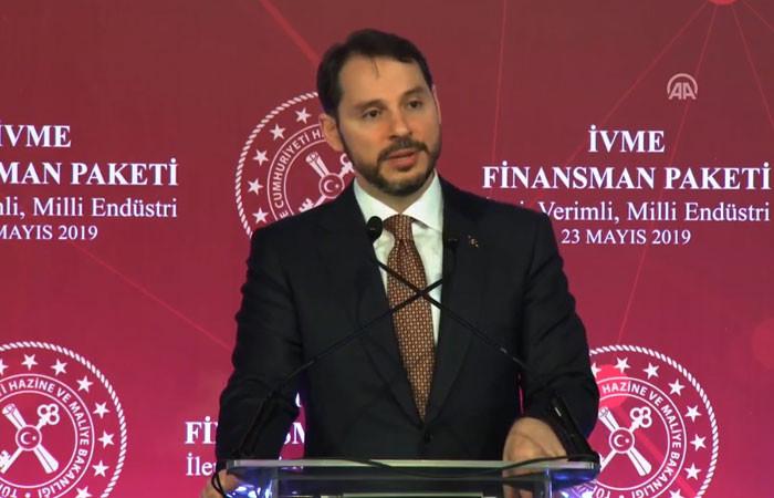 Bakan Albayrak, 30 milyar liralık 'İVME' paketini açıkladı