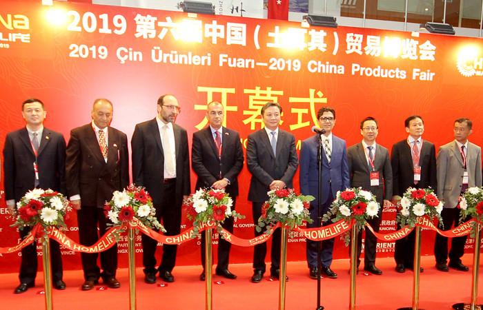 6. Çin Ürünleri Fuarı, İstanbul'da kapılarını açtı
