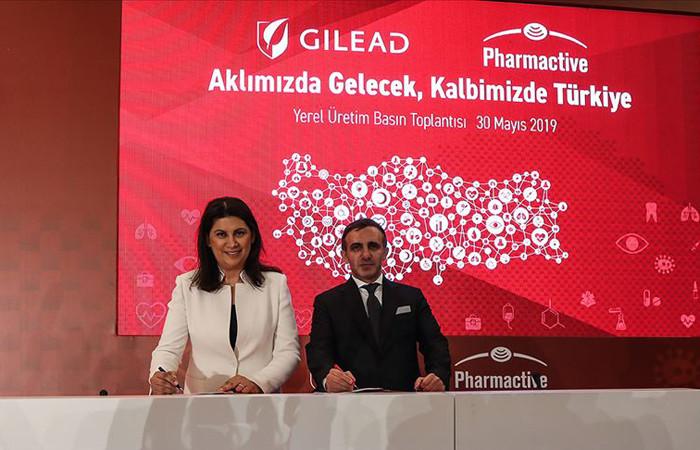 Gilead Sciences, Pharmactive İlaç ile yerli üretim anlaşması imzaladı