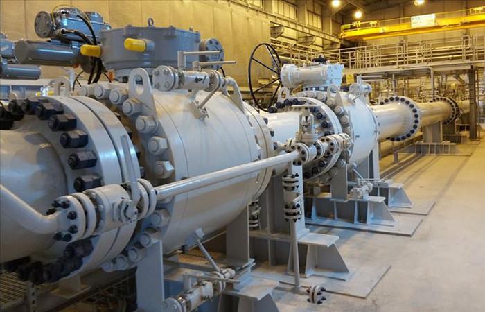 TANAP'tan 1,8 milyar metreküp gaz