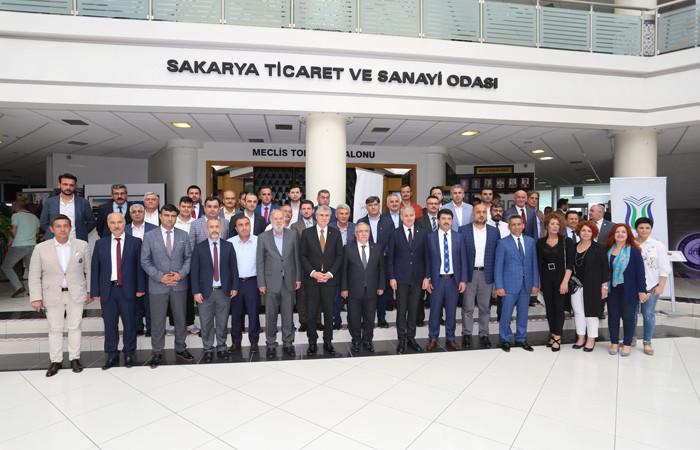 Sakarya'nın geçmişini belgeleyecek platform SATSO'da tanıtıldı