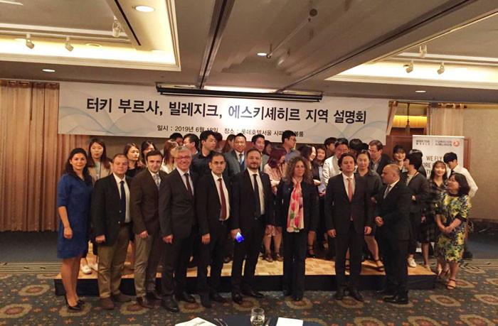 Bursa'nın güzellikleri Güney Kore'de anlatıldı