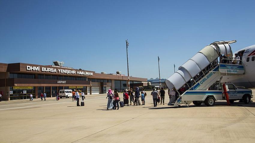 Bursa Yenişehir Havaalanı'nda yüzde 100 doluluk oranı