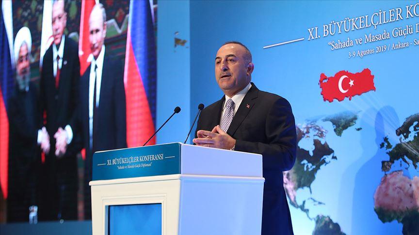 Dışişleri Bakanı 'Yeniden Asya' açılımını duyurdu