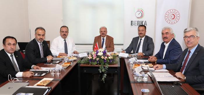 BEBKA yönetim kurulu Bursa'da toplandı