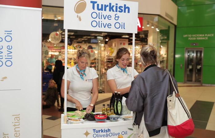 Türk zeytinyağı İngiltere pazarına yöneldi