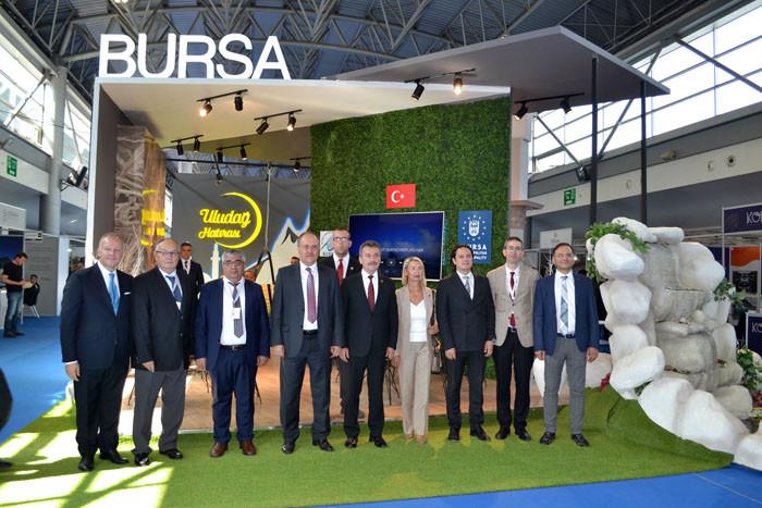 Turizm profesyonelleri Bursa'da buluşuyor