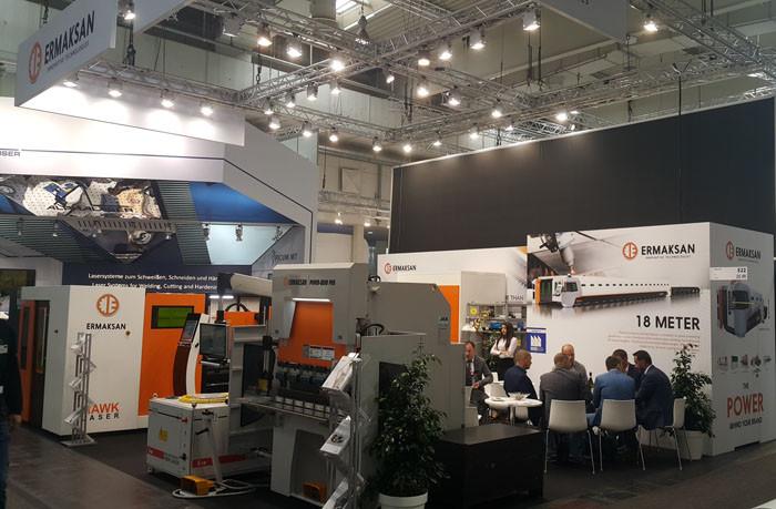 Ermaksan, yenilikçi teknolojilerini Almanya EMO Fuarı'nda tanıttı